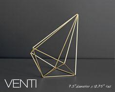 VENTI / Modern Hanging Mobile / Air Plant Hanger / Himmeli