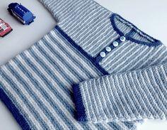 VIGGO, strikket på pind 3 - Garn og opskrift