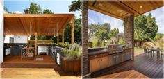 Cele mai frumoase idei pentru amenajari de bucatarii exterioare - http://ideipentrucasa.ro/cele-mai-frumoase-idei-pentru-amenajari-de-bucatarii-exterioare/