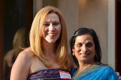 ASHFoundation fundraiser 2014. Kristin (Marketing Manager) and Angie (Plural CEO)