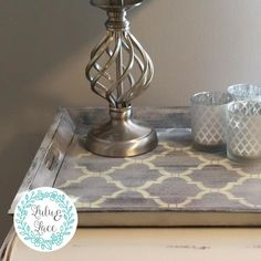 Moroccan Printed Serving Tray