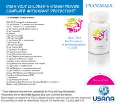 #Usana #Usanimals supports #healthy growth and development with an excellent range of the #essentials #vitamins , #minerals and #antioxidants your child needs for: healthy #immune function, #energy levels, #bone support and #brain development. cristina_dumitru.usana.com besthealthynutrition.com