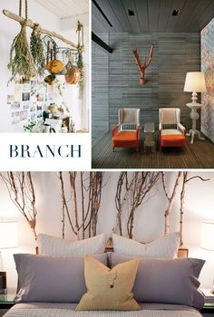 Looking to stylishly #repurpose wood? You're barking up the right tree! 9 great #DIY ideas -