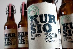 handcrafted label design project for Lithuanian-based tiny microbrewery Sakiskiu Alus.  http://www.creativebloq.com/branding/beer-branding-quenches-our-creative-thirst-4132482