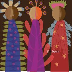 Liturgical Art: Advent by Marnie Baehr at Coroflot.com