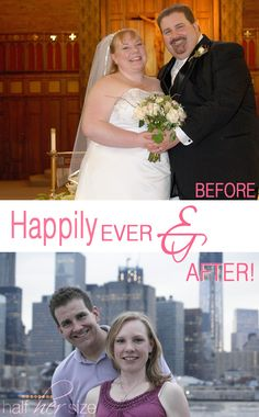 Amazing! This couple has an inspiring extreme weight loss success story ~ http://ourladyofsecondhelpings.com