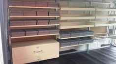 Enhance your work van storage, with absolutely adjustable shelving from Accessory World. You can adjust them wherever you want as per your will. Along with Van Shelving you can get different products like windows, timber walls and floors. Accessory World offers products and services at very reasonable prices.
