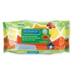 Sesame Street Beginnings Yellow Baby Wipes Travel Case With Alphabets
