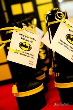 "Photo 1 of 31: Super Heroes, Batman, Batgirl, Hot Pink, Yellow, Black / Birthday ""Faith's 5th Batman/Batgirl Party"" | Catch My Party"