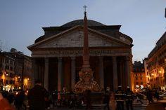 The Pantheon Portico, Piazza Rotunda