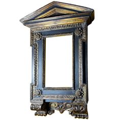 A Mannerist Italian Wood Tabernacle Frame, ca 1600, from the Collection of David Abbato