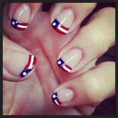 Flag Day - Memorial Day - 4th of July - Labor Day -Veterans Day -any day mani!