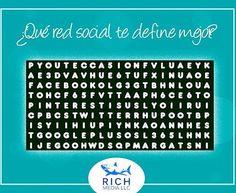 Dinos cuáles y cuántas redes conseguiste en la sopa de letra???! #socialmedia