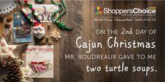 Turtle Soup, a Louisiana tradition   Cajun Christmas   12 Days of Christmas