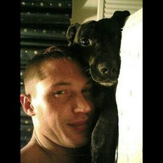 You can tell a lot about a man by the way he treats animals. Tom Hardy is a sweetheart who loves his companions.