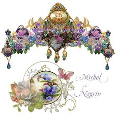 """~ *Til The End Of Time* ~ Michal Negrin ~"" by judie-by-design on Polyvore"