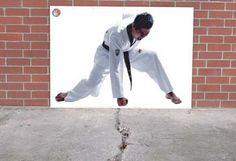 martial arts school ambient ads
