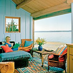 15 Rustic Beach Rooms