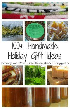 100 + Handmade Holiday Gift Ideas ::: Ever Growing Farm