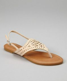 Loving this Beige Cutout Sandal on Crazy Shoes, Me Too Shoes, Fashion Outfits, Womens Fashion, Passion For Fashion, Cute Outfits, Beige, Sandal, Stylish