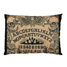 Ouija Board Standard Pillow Case by Stuff of the Dead