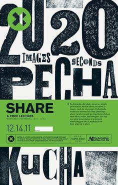 20 images, 20 seconds - Pecha Kucha