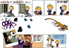 My all-time favorite Calvin & Hobbes strip