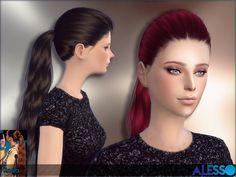 The Sims Resource: Koala hairstyle by Alesso  - Sims 4 Hairs - http://sims4hairs.com/the-sims-resource-koala-hairstyle-by-alesso/