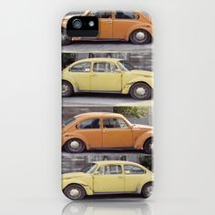 VW's in Skagway Alaska iPhone  iPod Case by Bruce Stanfield - $35.00