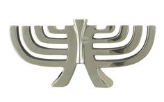 Modern design Aluminium Menorah