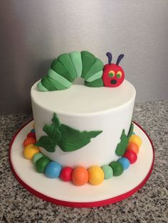 The Hungry Caterpillar Cake by Cake Mania, Blackwater, Queensland, Australia. You'll find this Cake Appreciation Society Member in our Directory at www.cakeappreciationsociety.com