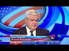 """Newt Gingrich: If media wasn't lined up against Trump, he'd be beating C...proof is in the pudding, this """"journalist"""" should listen to herself, she is so negative just starting out her line of questions she spins it her way. What frauds they are."""
