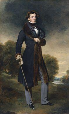 Retrato de David Lyon - Thomas Lawrence   Museo Thyssen