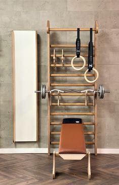 Dream Home Gym, Diy Home Gym, Gym Room At Home, Home Gym Decor, Home Gym Garage, Workout Room Home, Workout Rooms, Mini Gym, Basement Gym