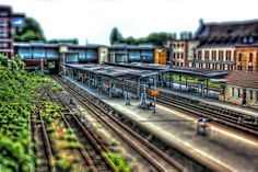 Osnabrück - Osnabrück Hauptbahnhof TiltShift 02 by Daniel Mennerich, via Flickr