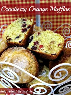 Lady-Behind-The-Curtain-Cranberry-Orange-Muffins