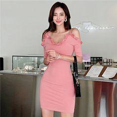 Asian Model Girl, Satin Skirt, Asian Beauty, Parka, Korean, Beautiful Women, Bodycon Dress, Womens Fashion, Sexy
