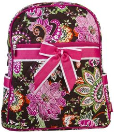 NGil Pink Floral Qulted Backpack >>> Want additional info? Click on the image.