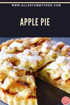 How to make apple pie at home. In this video, you'll learn how to make an apple pie, the classic All-American dessert. Apple pie is an all-around favourite. This popular dessert is eaten on holidays, during special events, and just for fun! Join our amazing membership for more recipes!