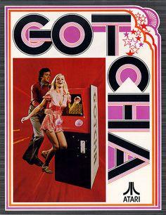 "Atari ""gotcha"" vintage ad"