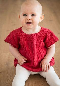 Babykjole og sko - Gratis opskrift