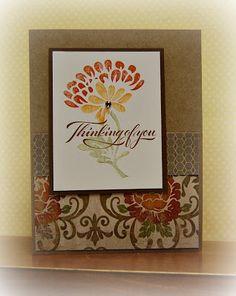 card by Lynn Darda using CTMH Huntington paper