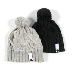 cable knit caps