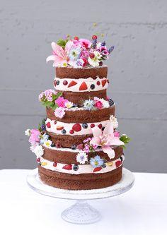 Naked Cake für die Hochzeit Foto/Torte: Naschwerk & Co.