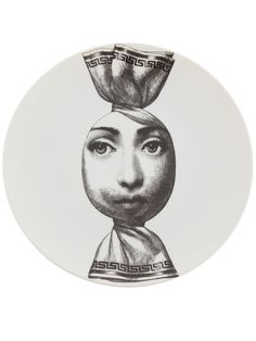 "Plate 262 from Piero Fornasetti's ""Theme and Variations"" series"