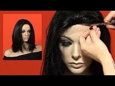 Wig Alterations! How to Make a Quick Lace Hairline For a Wig Video Tutorial- DoctoredLocks.com