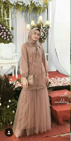 Contoh gamis Kebaya Modern Hijab, Kebaya Hijab, Kebaya Dress, Dress Pesta, Kebaya Muslim, Muslim Dress, Dress Muslim Modern, Hijab Gown, Hijab Dress Party