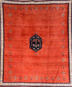Gabbeh 'Loribaft',, Gabbeh 'Loribaft', Persia, circa 30 years old, wool/wool, approx. 251 x 211 cm