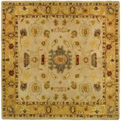 Safavieh Anatolia Ivory/Gold 8 ft. x 8 ft. Square Area Rug-AN543C-8SQ at The Home Depot