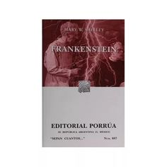 Libro Frankenstein - $ 58.00